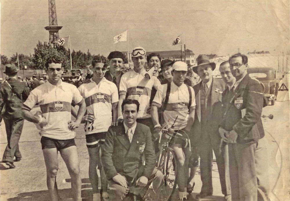 1936 Berlin Olimpiyatları'nda milli bisiklet ekibimiz