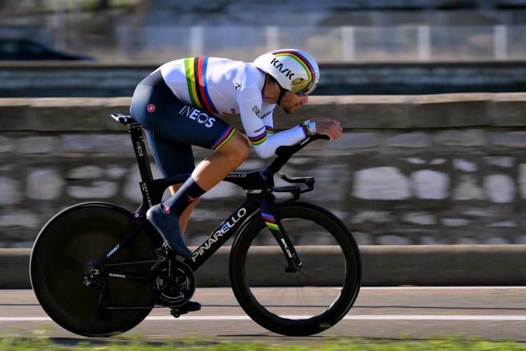 Filippo Ganna UAE Tour zamana karşısını da kazandı